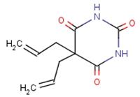 52-43-7 5,5-diallylbarbituric acid
