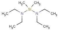 4669-59-4 Bis(diethylamino)dimethylsilane