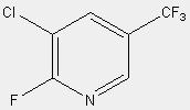 2-氟-3-氯-5-三氟甲基吡啶 71537-17-8
