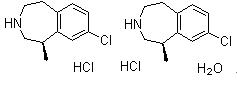 Lorcaserin hydrochloride hemihydrate 856681-05-5