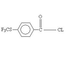 4-trifluomethylthio-benzoyl chloride 330-14-3