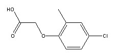 2-Methyl-4-chlorophenoxyacetic acid 94-74-6