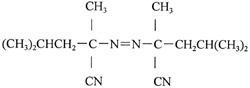 2,2'-Azobis(2,4-Dimethyl)Valeronitrile 4419-11-8