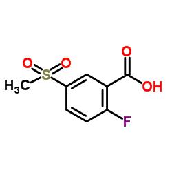 2-氟-5-甲烷磺酰基苯甲酸 247569-56-8