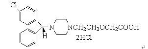 Levocetirizine HCL 130018-87-0