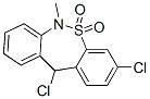 26638-66-4 3,11-dichloro-6,11-dihydro-6-methyldibenzo[c,f][1,2]thiazepine 5,5-dioxide