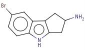 1196037-58-7 7-bromo-1,2,3,4-tetrahydrocyclopenta[b]indo-2-amine