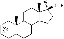 甲基环硫雄醇中间体