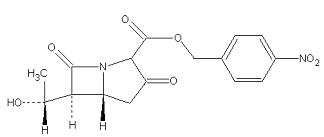 4-硝基苄基-(5R,6S)-6-[1R]-1-羟基乙基]-3,7-二酮-1-氮杂双环[3.2.0]庚烷-2-羧酸酯 74288-40-7