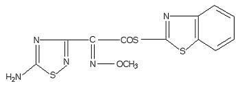 89604-91-1 S-2-Benzothiazolyl (Z)-2-(5-amino-1,2,4-thiadiazol-3-yl)-2-methoxyimino thioacetate