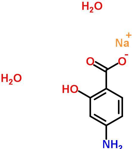 对氨基水杨酸钠二水合物