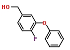 m-Phenoxy-4-fluorobenzyl alcohol 68359-53-5