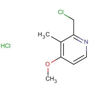 124473-12-7;86604-74-2 2-Chloromethyl-3-Methyl-4-Methoxypyridine Hydrochloride