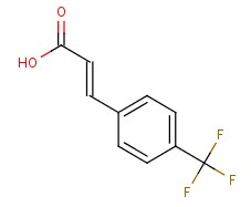 2062-26-2;16642-92-5 p-(Trifluoromethyl)cinnamic acid