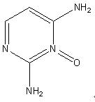 2,4-diaminopyrimidine 3-oxide 74638-76-9