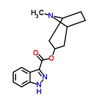 8-甲基-8-氮杂-双环[3.2.1]辛-3-基1H-吲唑-3-羧酸甲酯 107007-94-3
