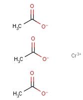 乙酸铬 17593-70-3;1066-30-4