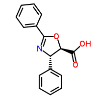 158722-22-6 (4S,5R)-2,4-Diphenyl-4,5-dihydro-1,3-oxazole-5-carboxylic acid