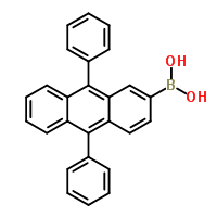 597553-98-5 (9,10-Diphenyl-2-anthryl)boronic acid