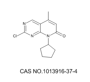1013916-37-4 2-chloro-8-cyclopentyl-5-methylpyrido[2,3-d]pyrimidin-7(8H)-one