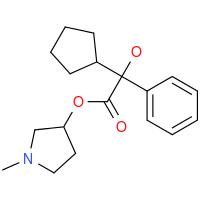 13118-11-1 1-methylpyrrolidin-3-yl cyclopentylphenylglycolate