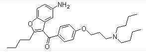 141644-91-9 (5-Amino-2-butyl-1-benzofuran-3-yl){4-[3-(dibutylamino)propoxy]phenyl}methanone