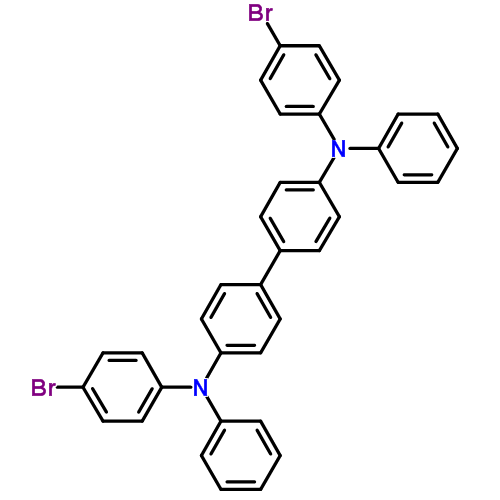 4,4'-双[(4-溴苯基)苯氨基]联苯 344782-48-5