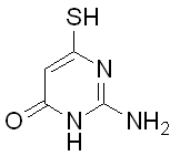6973-81-5 2-Amino-6-mercaptopyrimidin-4(1H)-one