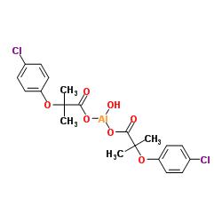 24818-79-9 Aluminum hydroxide 2-(4-chlorophenoxy)-2-methylpropanoate (1:1:2)
