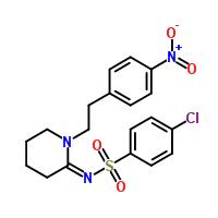 93101-02-1 4-Chloro-N-[1-[2-(4-nitrophenyl)ethyl]-2-piperidinylidene]benzenesulfonamide