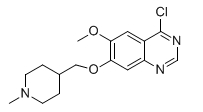 264208-72-2 4-chloro-6-methoxy-7-[(1-methyl-4-piperidinyl)methoxy]-Quinazoline