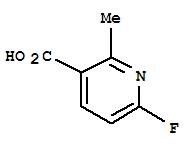 6-氟-2-甲基烟酸 884494-97-7