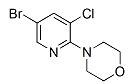 1199773-09-5 4-(5-bromo-3-chloropyridin-2-yl)morpholine