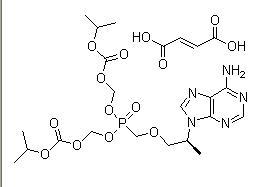 Tenofovir disoproxil fumarate 202138-50-9