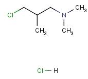 4261-67-0 3-Dimethylamino-2-methylpropyl chloride hydrochloride