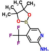 944401-57-4 5-(4,4,5,5-Tetramethyl-1,3,2-dioxaborolan-2-yl)-4-(trifluoromethyl)-2-pyridinamine