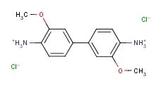 3,3'-二甲氧基联苯胺盐酸盐 20325-40-0