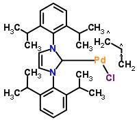 烯丙基氯化[1,3-双(2,6-二异丙基苯)咪唑-2-基]钯 478980-03-9