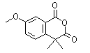 55974-25-9 7-methoxy-4,4-dimethylisochroman-1,3-dione