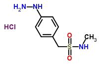88933-16-8 4-Hydrazino-N-Methylbenzenemethanesulfonamide Monohydrochloride