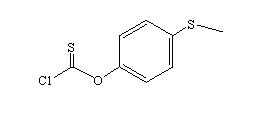 4-(methylthio)phenyl chlorothioformate 84995-60-8