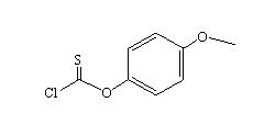 4-methoxyphenyl chlorothioformate 940-58-9