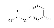 间甲苯基氯硫代甲酸酯 2812-83-1