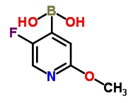 1043869-98-2 5-Fluoro-2-methoxypyridine-4-boronic acid