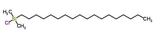 氯二甲基-n-十八烷基硅烷 18643-08-8