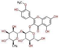 55033-90-4 isorhamnetin-3-O-neohesperidoside