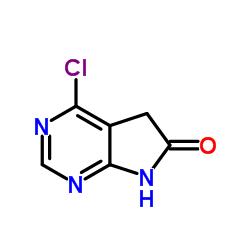 4-氯-5,7-二氢-6H-吡咯并[2,3-D]嘧啶-6-酮 346599-63-1