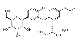 Dapagliflozin propylene glycolate hydrate 960404-48-2