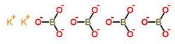 四硼酸钾 1332-77-0;12007-40-8