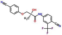 (2R)-3-(4-氰基苯氧基)-N-[4-氰基-3-(三氟甲基)苯基]-2-羟基-2-甲基丙酰胺 841205-47-8;1235370-13-4;1202044-20-9